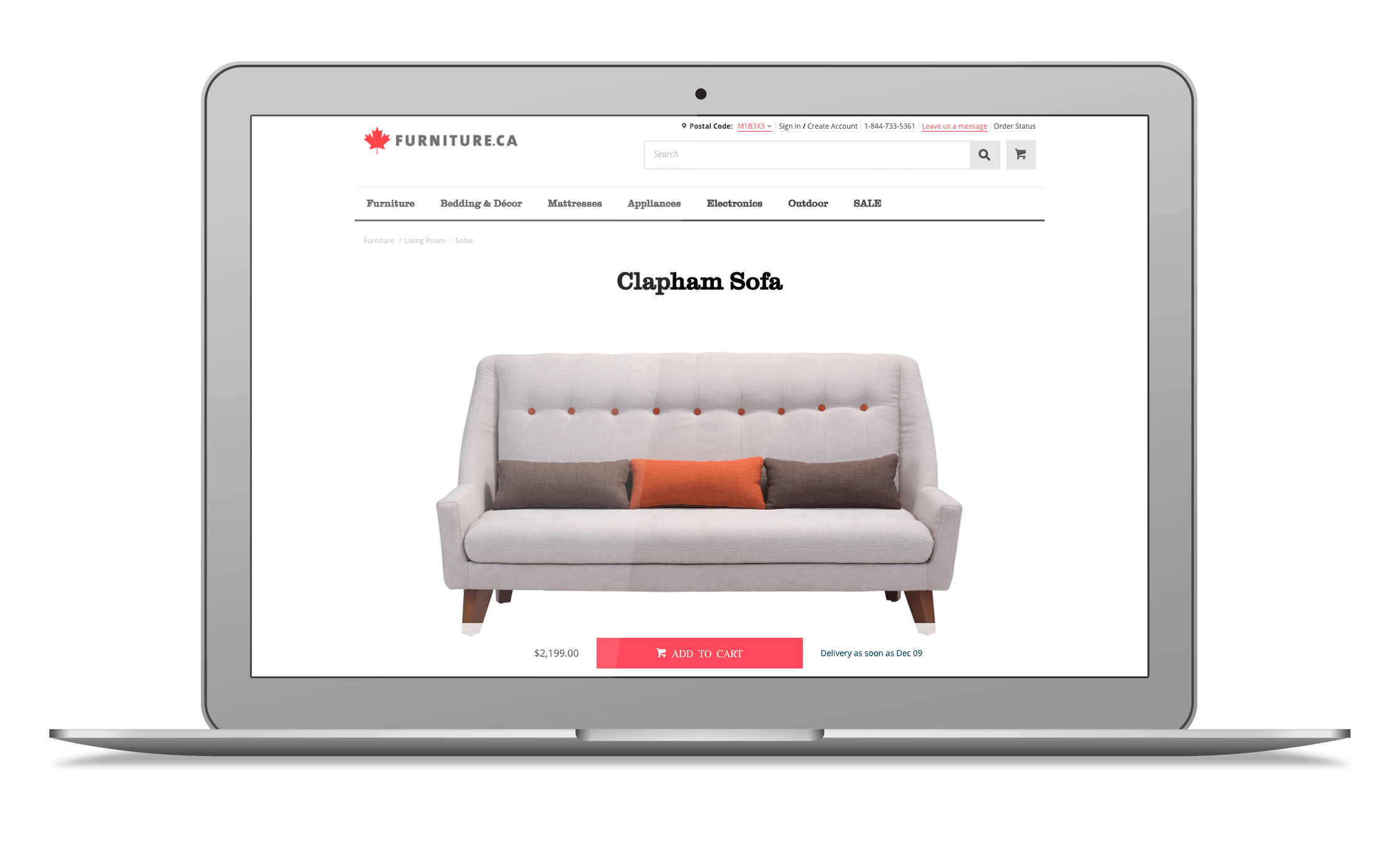 Furniture.ca is more than just an online furniture store. It's a better way  to shop online for furniture, home décor and so much more!